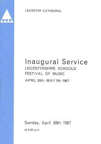 LSSO - Programme Covers - 1967