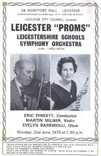 LSSO - Programme Covers - 1975